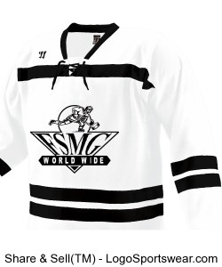 Warrior Adult Turbo Hockey Game Jersey Design Zoom